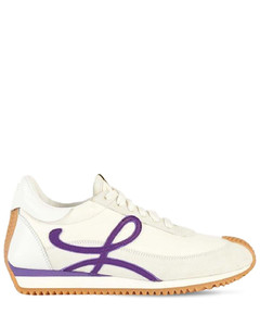 20mm Flow Leather & Suede Sneakers