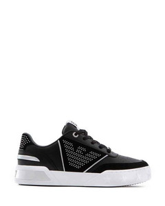 Twisted leather flip flops
