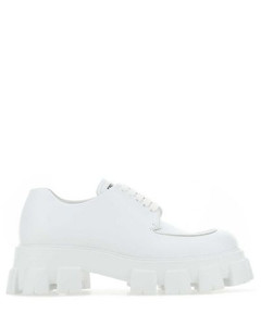 Pearl embellished leather slip on sneakers