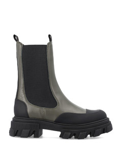 X Birkenstock Long Fur Madrid sandals