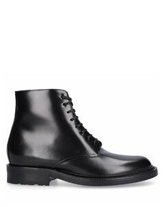 Lace Up Ankle Boots AEMY 20 calfskin black
