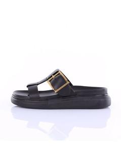 ALEXANDER MC QUEEN Sandals Low Women Black
