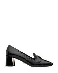 Prada Heel Logo Loafer