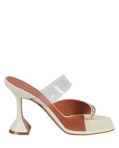sneakers in monogram denim