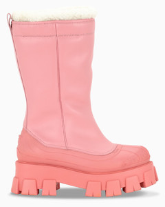 Pink Monolith boots