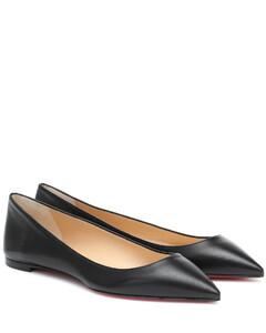 Ballalla皮革芭蕾舞平底鞋