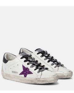 Superstar皮革运动鞋