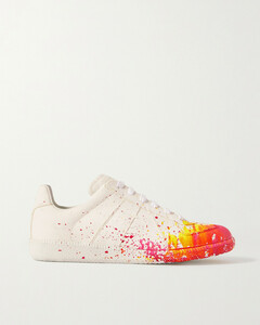Replica Printed Cotton-canvas Sneakers