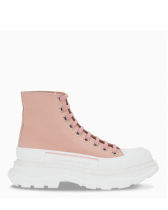 Women's white/pink Tread Slick boots