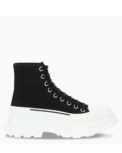 Women's white/black Tread Slick boots