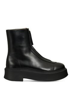 40毫米皮革及踝靴