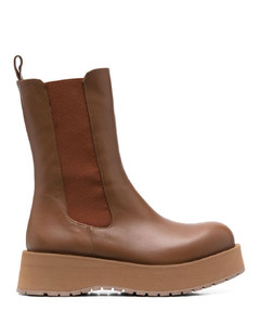 Deluxe Brand Mid Star Lace-Up Sneakers