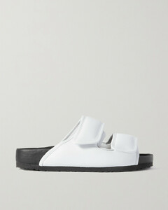 Ding Yun Zhang Padded Leather Sandals
