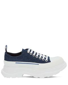 """45毫米""""tread Slick""""棉质帆布运动鞋"""