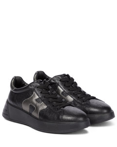 Rebel皮革运动鞋