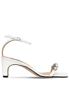 60mm Sr1 Embellished Leather Sandals