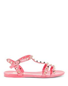 Garavani Valentino Garavani Garavani PVC Stud Sandals in Pink
