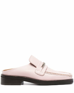 LOAFER MULE W - PINK LEATHER