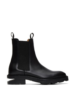 黑色Andy Box切尔西靴