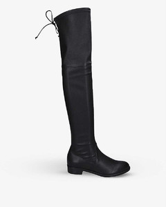 Lowland suede thigh boots