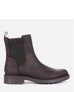 Women's Orinoco 2 Top Leather Chelsea Boots - Black