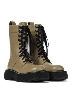 The Bounce皮革战地靴