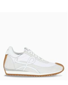 White Flow Runner sneakers