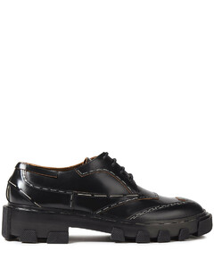 Woman Glossed-leather Brogues