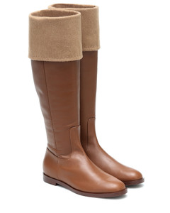 Brigg leather knee-high boots