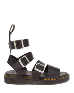 Gryphon buckled leather sandals