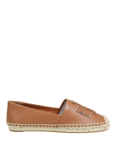 Espadrilles In Tan Leather