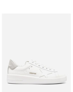 Chloe Woody Embroidered Canvas Slides in Neutral