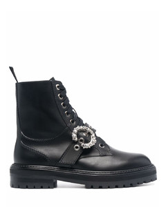 Cora leather ankle boots