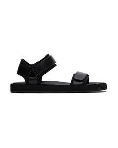 Tabi High Top Sneakers In Black Canvas