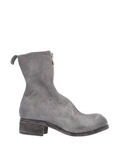 PL2 Front Zip Ankle Boots
