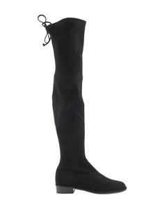 Lowland stretch suede boots