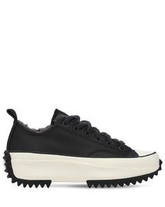 Run Star Hike Ox Leather Sneakers