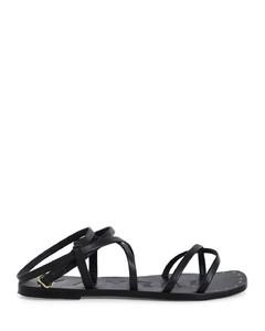 Garavani Rockstud皮革及膝靴