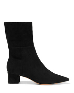 Woman Stretch-suede Sock Boots