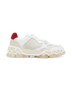 白色&驼色Diamond X运动鞋
