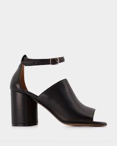 水晶缀饰绒面革踝靴