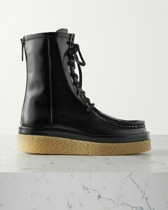 251 sneakers in leather with glitter bands