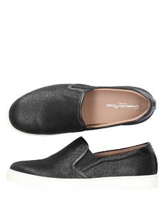 Slip On Shoes Finished black