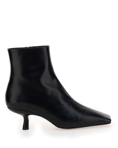 Lange Square-Toe Ankle Boots