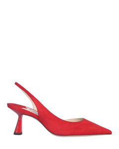 Red Suede Fetto Shoes