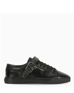 Black buckle Andy sneakers