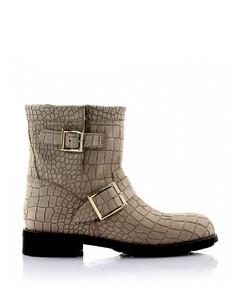 Cowboy-/ Biker Ankle Boots suede