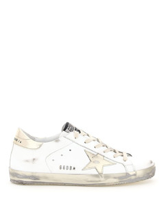 SUPER-STAR SNEAKERS WITH LAMINATED STAR