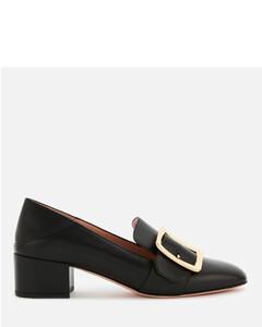Women's Janelle 40 Leather Loafers - Black