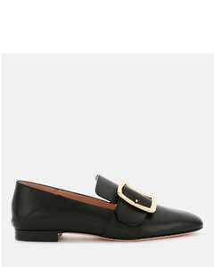 Women's Janelle Leather Loafers - Black